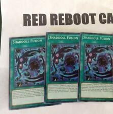 3x Shaddoll Fusion Secret Rare SHVA yugioh mint