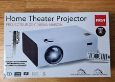"RCA Home Theater LCD Projector RPJ119 720p 2000 Lumens 150"" screen new"