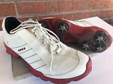 Ecco Mens Biom Waterproof Gore-Tex Yak White Leather Lightweight Golf Shoes 41