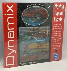 New & Sealed BLUE OPAL - Moving Jigsaw Puzzle - Super Highway 250 Piece