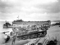 6x4 Gloss Photo wwCEA Normandy Invasion WW2 World War 2 528