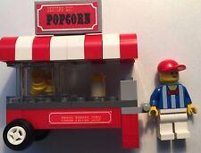 Custom Lego popcorn cart kit- pkg'd w/ ALL parts, instructions, decals