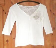 Damen Shirt Murphy & Nye Gr. S, 3/4 Arm, tiefer V-Ausschnitt,Segelbekleidung