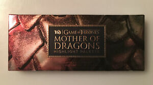 Urban Decay x Game of Thrones Mother of Dragons Highlight Palette. Cosmetics