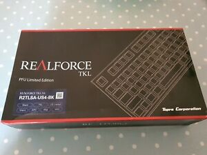 New and sealed REALFORCE R2 PFU Limited Edition Black TKL Mechanical Keyboard