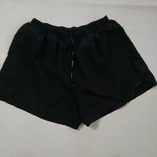 "Nike Men's  XXL Black 4"" Woven Running  Fitness Shorts 40461"