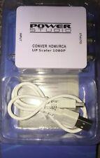 Convertisseur / HD Haute Qualité 1080 P /Composite Rca - Power Studio