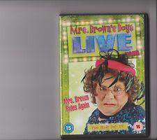 MRS BROWNS BOYS LIVE TOUR - MRS BROWN RIDES AGAIN DVD