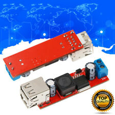 DC 9V 12V 24V 36V to 5V 3A Car USB Charger Module Buck Step Down Converter Phone