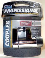 Reese Towpower LifeLong Professional Chrome Coupler Anti-Theft Lock w Keys 70305