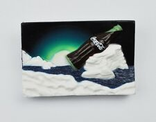 Coca-Cola USA Magnet Kühlschrankmagnet Fridge Magnet Coke - Flasche auf Eisberg