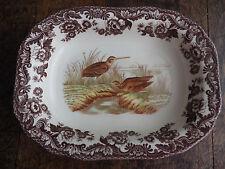 woodland spode   large vegetatable dish  l Plate bird duck
