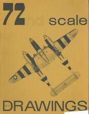 AIR SCALE 72nd SCALE DRAWINGS Ju88S_He100D_SPIT Mk.IX_Fw190A-7_Bf109E-4/N_Ju87B