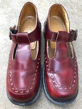 Dr. Martens Vintage Burgundy Mary Jane Shoes size UK 6 (US 8) (EUR 39)