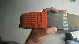 New Gates Hi-Power II  2/B133 PowerBand Belt 091ss