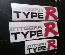 HONDA JAPAN INTEGRA TYPE R DECAL BLACK VARIANT sticker JDM OEM size DC2