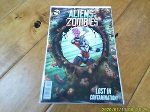 Aliens vs. Zombies #3 of 5 (2015 Series) Zenoscope Comics 'Cover A' NM