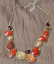 Premier Designs Poppy necklace Statement Gold