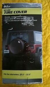 """Bully Spare Tire Cover CM-03WK fits """"29.5 - 32.5"""" New Other"""
