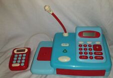 Early Learning Centre Cash Register - blue red microphone sounds