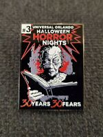 Universal Orlando Halloween Horror Nights HHN 30 Mystery Pin #3: The Storyteller