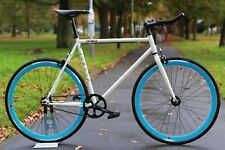NEW GOKU Steel Frame Single speed road bike TRACK bike fixed gear White