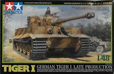 1/48 Tamiya 32575 - German WWII Tiger Tank Late Production  Plastic Model Kit