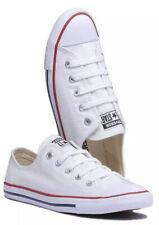 EUC Women's Sz US 6 CONVERSE Chuck Taylor Dainty Ox White Sneakers Worn Once