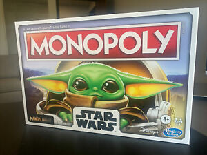 Monopoly Star Wars The Child Edition Yoda Mandalorian Board Game New (A TO)