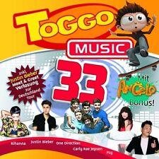 TOGGO MUSIC 33 (RIHANNA/JUSTIN BIEBER/ONE DIRECTION/PSY/+)  CD  23 TRACKS  NEU