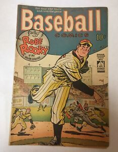 Baseball Comics #1 Will Eisner First Issue Golden Age Sports Comic 1949 Vintage