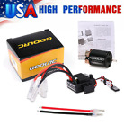 GoolRC 540 23T Brushed Motor + Waterproof 60A ESC Combo for Drift Touring RC Car