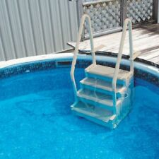 Confer Plastics Step-1 Heavy-Duty Pool Steps For Above Ground Swimming Pools