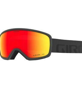 Giro RINGO, Grey Wordmark - Vivid Ember snow goggles ski