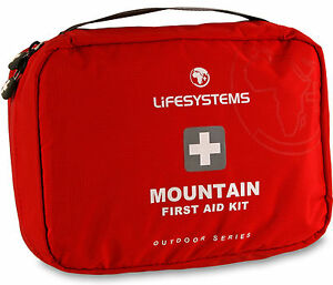 Lifesystems Mountain First Aid Kit Ripstop Waterproof Fabric Bag Case