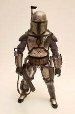 Custom 6in Mandalorian Commando Black Series Action Figure Star Wars Fett Vader