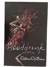 CHILDREN OF BODOM,BLOODDRINK,MUSIC BAND,RARE  2008 POSTER