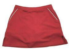 Adidas Skorts Womens Size 4 Red Skirt Pull On Pencil Straight Maroon Tennis Golf