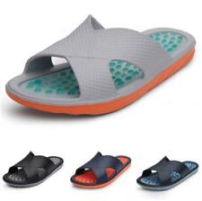 Mens Slingbacks Beach Slippers Shoes Cut out Comfy Soft Walking Sports Slides Sz