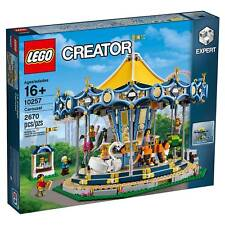'LEGO® Creator Expert Carousel 10257' from the web at 'https://i.ebayimg.com/thumbs/images/g/aQwAAOSwnB1ZtAoh/s-l225.jpg'