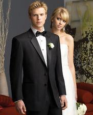 60 R Rare Black Phoenix 2 button Tuxedo Wool Coat Pants Shirt / Pick Vest Color