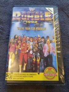 Vintage WWF Royal Rumble 1992 Wrestling VHS