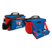 NRL Drink Cooler Bag With Tray - Newcastle Knights  - Team Logo - Insulated