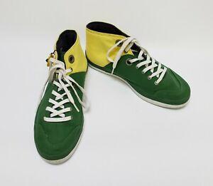 Havaianas Unisex Shoes Sneakers Hi Top Yellow Green Womens Size 8 Mens 7  EU 40