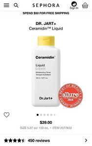 Dr. Jart+ Ceramidin Liquid Moisturizing Toner 150 mL / 5.07 fl. oz.