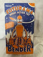 Official bender futurama wind up clockwork tinplate metal robot toy Rare New
