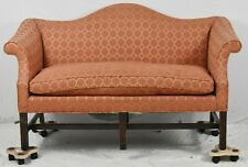 Chippendale Style Mahogany Settee in the Williamsburg Style