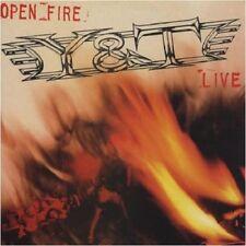 Y & T - Open Fire  [Re-Release] CD