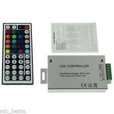 RGB Strip LED IR Controller Remote Steuerung+ 44Key Fernbedienung DC 12V-24V 12A