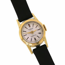 IWC with Tiffany & Co. 18K Yellow Gold Manual Wind Ladies Watch Leather Band